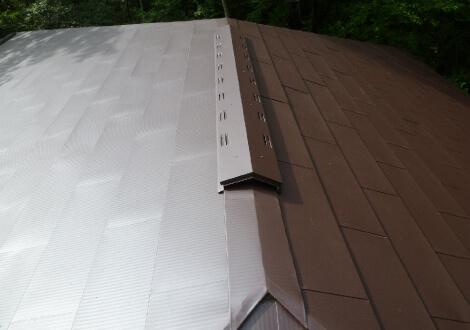 屋根葺き替え工事工事後